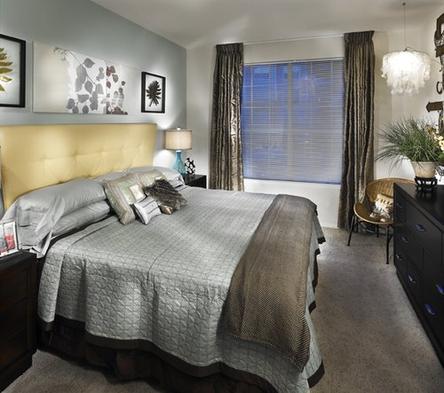The Parker Hilltop Apartments Bedroom