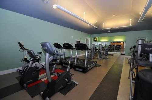 Parker Hilltop Apartments Gym